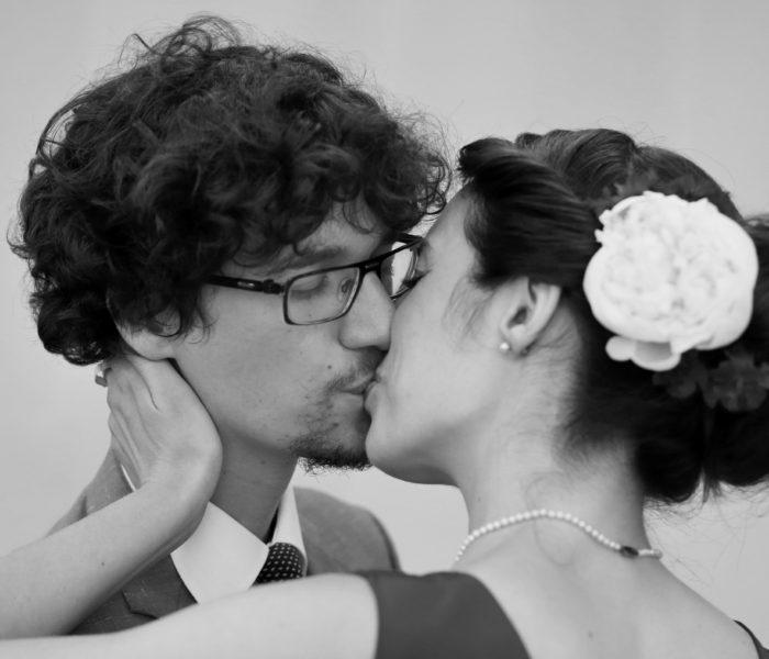 Svatební polibek - Mároš a Anna